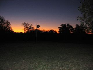Lampasas house photo - Sunrise from the front porch.