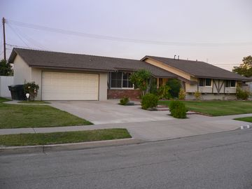 Garden Grove house rental - Driveway and street parking available, no garage access.