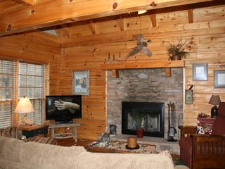 Wears Valley cabin photo - Great Room