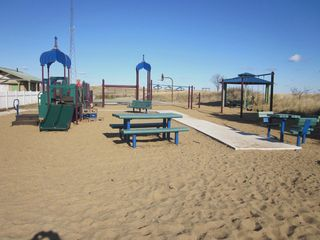 Plum Island house photo - Plum Island Play Ground Public bathroom to your left