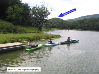 Moorefield cabin photo - South Mill Lake-A good place for kayaking fishing