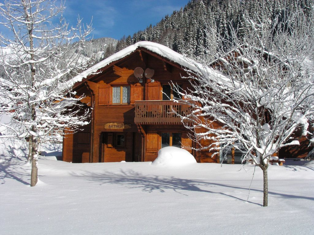 Accommodation near the beach, 91 square meters, , Châtel, Rhone-Alpes