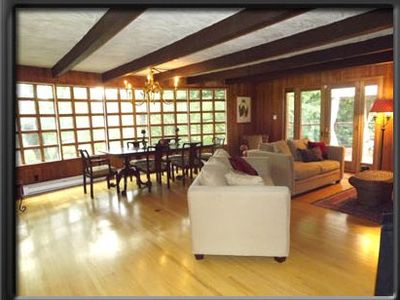 Spacious Family Friendly House With Heated Inground Pool 5 Min. From St. Sauveur