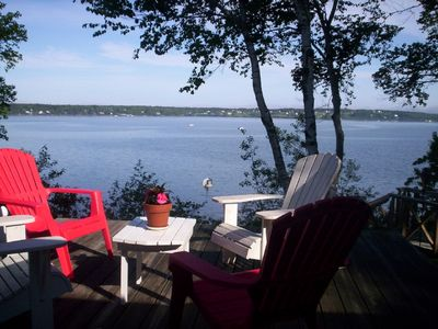 Waterfront cottage-panoramic views-Harpswell-sleeps 8  Now booking for 2016