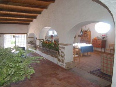 Santo Estevao farmhouse rental - The White Stables