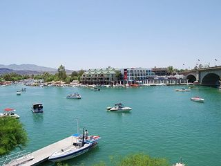Lake Havasu City house photo - Lake Havasu Channel with London Bridge