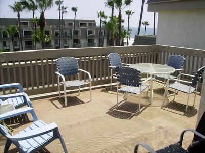 230 square foot patio off the Penthouse Suite.