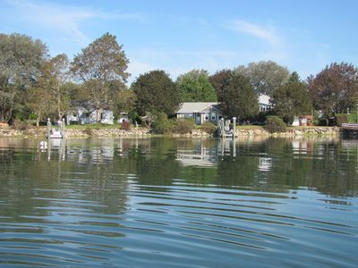 Great Island cottage rental - cruise to the ocean from the dock