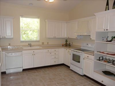 The large kitchen includes all the amenities you will need.