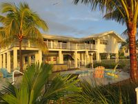 Oceanfront Home on Deep Water Canal w/Dock, Pool, Hot Tub, Kayaks, Pool Table!