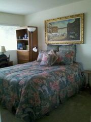 "Carlsbad house photo - The 3rd Full size upstairs bedroom with a 37"" TV & an ocean view!"