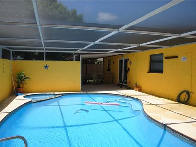 Fully enclosed & private pool