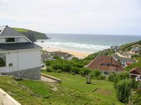 Stunning Sea View Property,sleeps 9, 2 Mins Walk From Safe Beach and Coastal Path