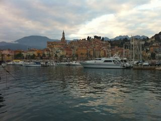 Menton house photo - The yatch and fishermen marina