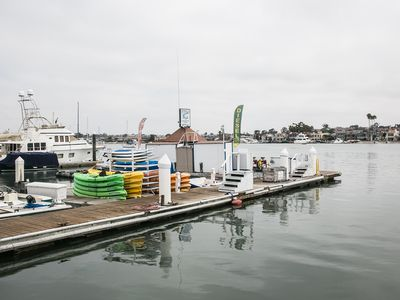 Paddle Board and Boat Rentals in Balboa Harbor 75 yards from your front door