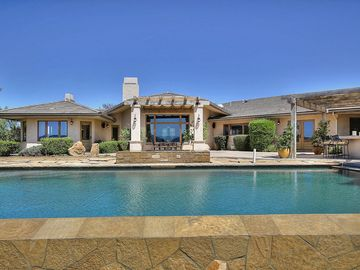 Los Olivos house rental - Infinity Pool - Swim with a view of the vineyards!