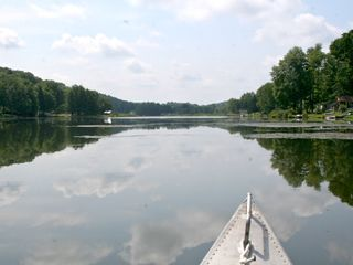 Lenox house photo - Canoeing on the lake - peaceful and pretty