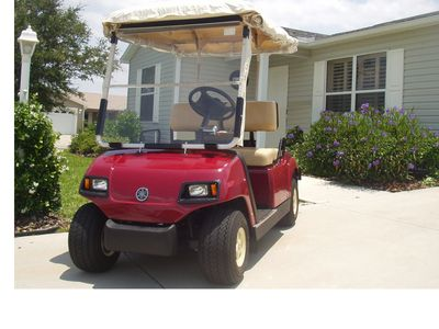 All Weather Gasoline powered Golf Cart