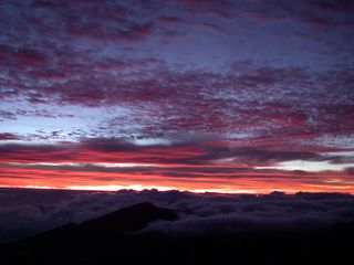 Honokowai condo photo - Sunrise from Haleakala