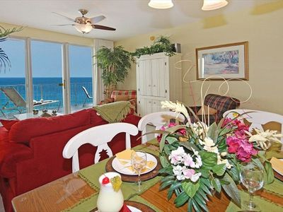 Dining Area with Great Gulf View