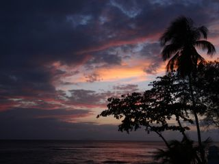 Rincon villa photo - Sunset from Villa