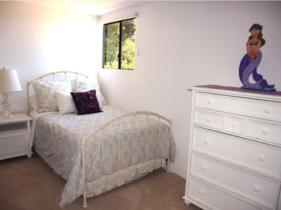 Malibu house rental - Bedroom No. 3 with double bed