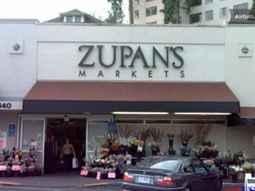 Gourmet Zupan's Market is right next door