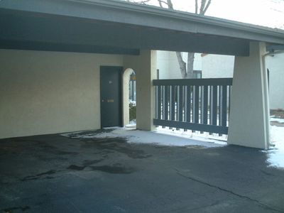 Your carport protects your vehicle from sun and snow