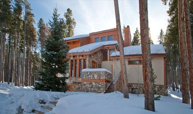 SKI TRAIL LODGE WINTER EXTERIOR