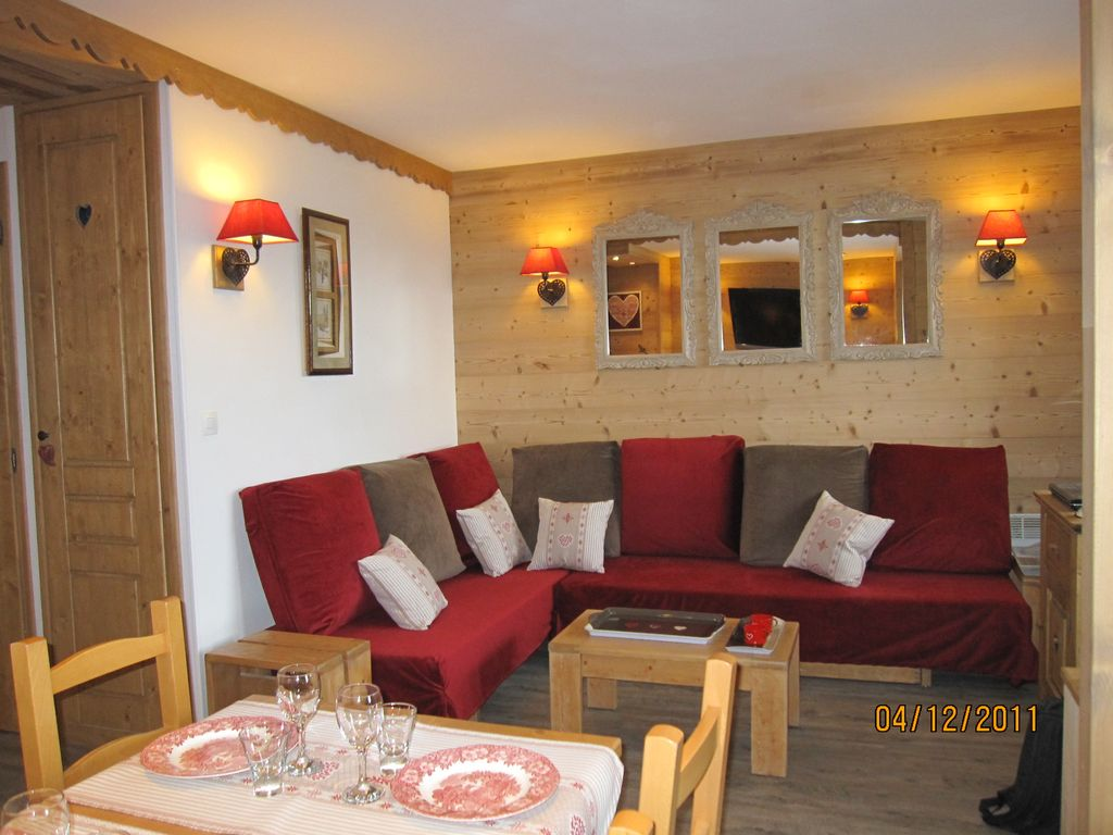 Holiday apartment, 35 square meters , Doucy, France