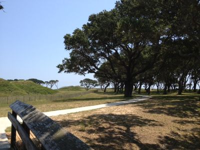 Fort Fisher on the South End of the Island.
