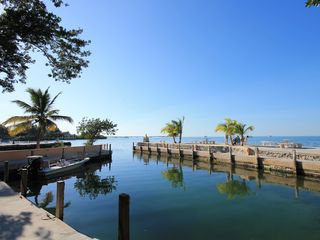 Islamorada condo photo - The boat basin provides protected mooring for boat