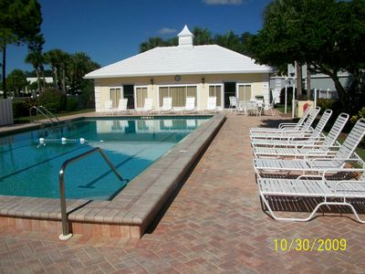 Heated pool for condominium onwners and guests