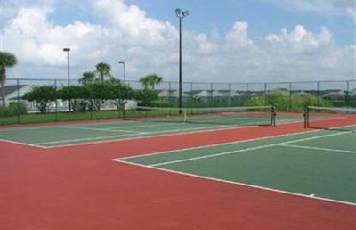 Tennis courts, also Volleyball,Basketball, large community Pool, Kidsplay ground