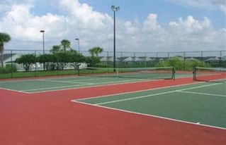 Hampton Lakes villa photo - Tennis courts, also Volleyball,Basketball, large community Pool, Kidsplay ground