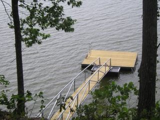 Lewis Smith Lake house photo - Swim Pier Dock