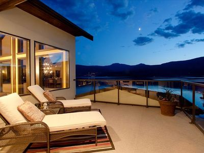 private balcony off the master bedroom
