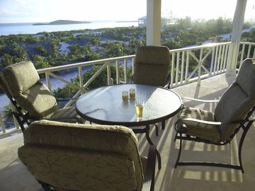 Upstairs Patio, with views of Turtle Rock