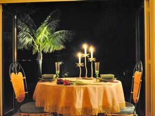 North Shore villa photo - A tropical twist on a romantic meal for two