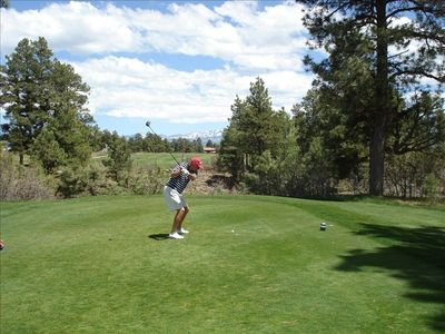 Golf at Pagosa Springs Golf Club with Beautiful Mountain Views Surrounding You