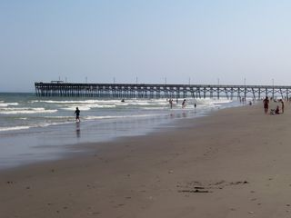 Surfside Beach condo photo - We are located 500 yds N. of the Surfside Pier