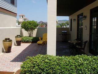 Seacrest Beach villa photo - Little Reata courtyard