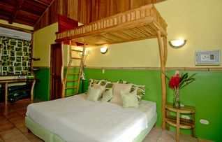 Canopy Suite with King Bed and Bunk Bed, Sleeps 4 - Manuel Antonio villa vacation rental photo
