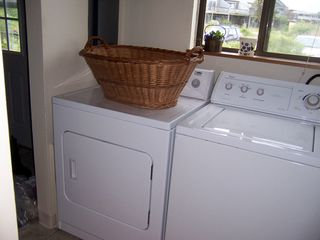 Madaket townhome photo - washer/dryer