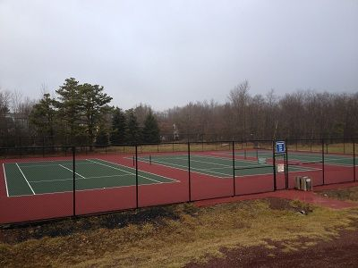Tennis courts , Full size Basketball court , canoe & paddle boat rental in Dev.