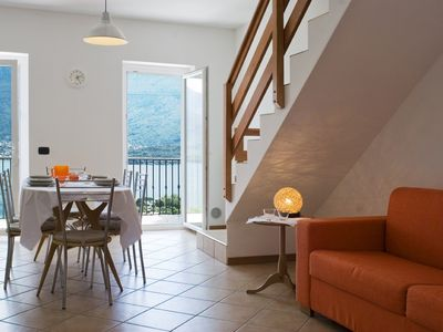 Accommodation near the beach, 60 square meters, , Domaso, Italy