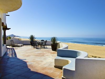 Todos Santos house rental - amazing deck space on second floor