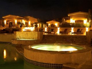 Cabo San Lucas house photo - The clubhouse at night.