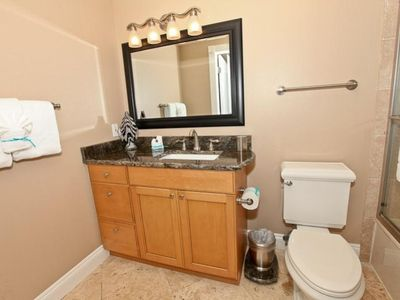 Hall Bathroom With Tub & Shower