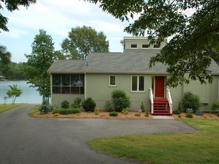 Moneta house photo - Allure, flat lot, with private boat ramp.